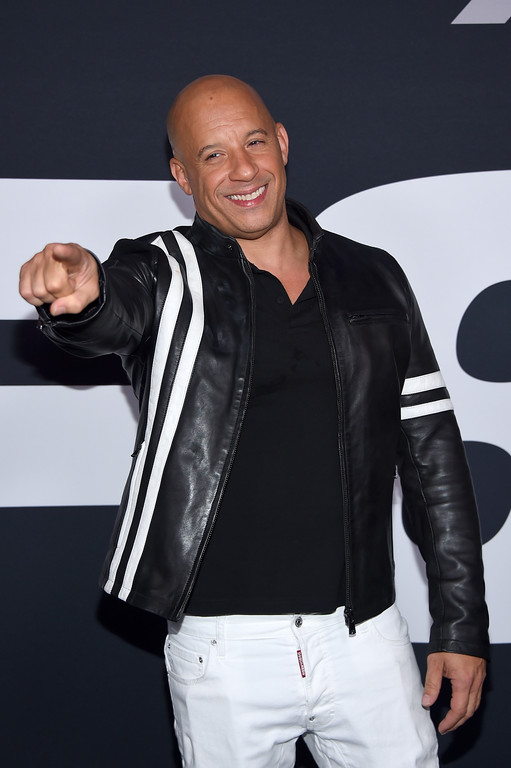 ". NEW YORK, NY - APRIL 08:  Actor Vin Diesel attends ""The Fate Of The Furious\"" New York Premiere at Radio City Music Hall on April 8, 2017 in New York City.  (Photo by Dimitrios Kambouris/Getty Images)"