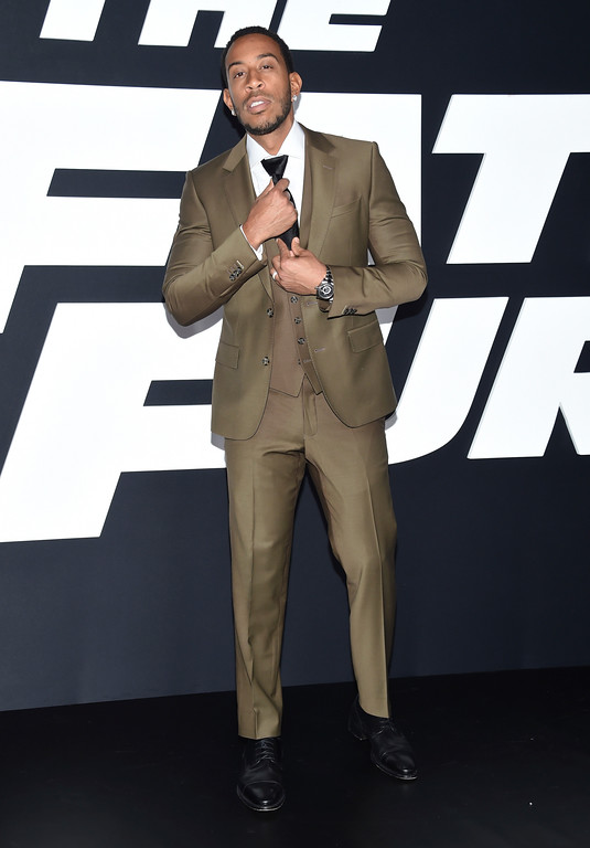 """. Ludacris attends the world premiere of Universal Pictures\' \""""The Fate of the Furious\"""" at Radio City Music Hall on Saturday, April 8, 2017, in New York. (Photo by Evan Agostini/Invision/AP)"""