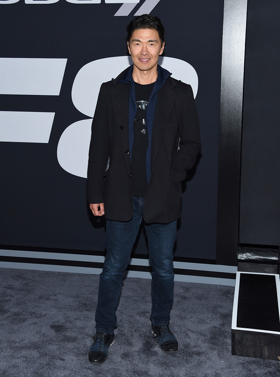 """. Rick Yune attends the world premiere of Universal Pictures\' \""""The Fate of the Furious\"""" at Radio City Music Hall on Saturday, April 8, 2017, in New York. (Photo by Evan Agostini/Invision/AP)"""