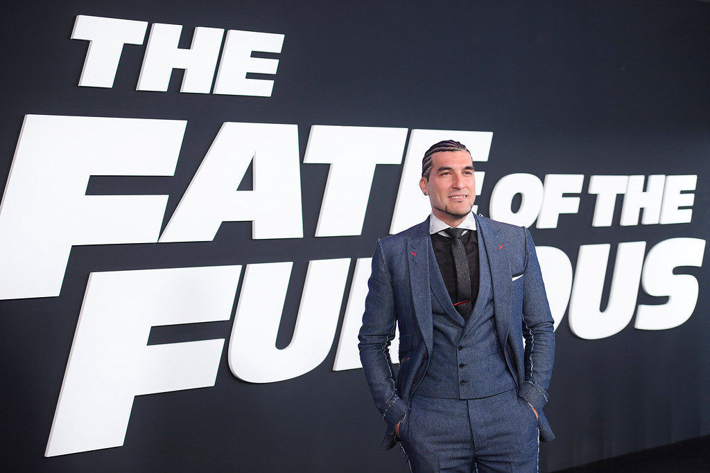 ". NEW YORK, NY - APRIL 08:  Soundtrack Artist José Manuel Pinto attends ""The Fate Of The Furious\"" New York Premiere at Radio City Music Hall on April 8, 2017 in New York City.  (Photo by Dimitrios Kambouris/Getty Images)"