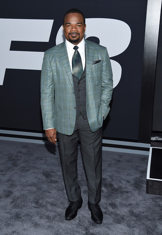""". F. Gary Gray attends the world premiere of Universal Pictures\' \""""The Fate of the Furious\"""" at Radio City Music Hall on Saturday, April 8, 2017, in New York. (Photo by Evan Agostini/Invision/AP)"""