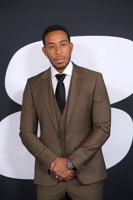 """. NEW YORK, NY - APRIL 08:  Actor Ludacris attends \""""The Fate Of The Furious\"""" New York Premiere at Radio City Music Hall on April 8, 2017 in New York City.  (Photo by Dimitrios Kambouris/Getty Images)"""