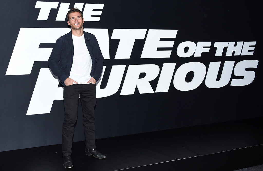 """. Scott Eastwood attends the world premiere of Universal Pictures\' \""""The Fate of the Furious\"""" at Radio City Music Hall on Saturday, April 8, 2017, in New York. (Photo by Evan Agostini/Invision/AP)"""