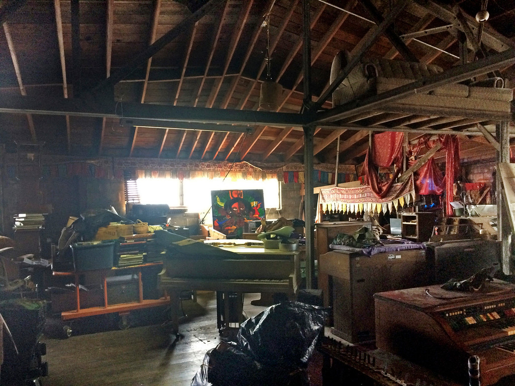 . This 2014 photo provided by Ajesh Shah shows the interior of a portion of the \'Ghost Ship\' warehouse, taken while he was on a tour as a potential tenant of the Oakland, Calif., building. Dozens of people have died at a party after a fire that started late Friday, Dec. 2, 2016, and swept through the building. (Ajesh Shah via AP)