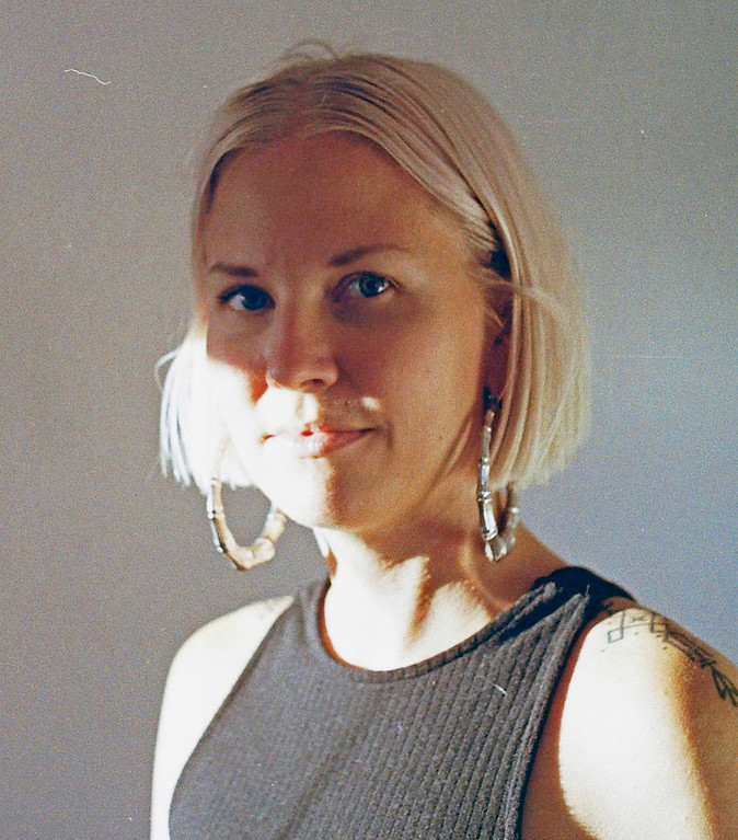 . This May 2016 photo provided by Lenworth McIntosh shows Hanna Ruax in Oakland, Calif. Ruax died in the warehouse fire Oakland that began Dec. 2, 2016. Ruax, whose death was publicly confirmed Tuesday night, was a yoga instructor, entrepreneur and activist from Helsinki, Finland. (Lenworth McIntosh via AP)