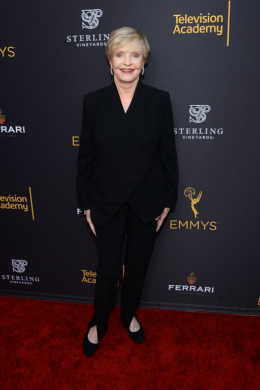 . BEVERLY HILLS, CA - AUGUST 22:  Actress Florence Henderson arrives at the Television Academy\'s Performers Peer Group Celebration at Montage Beverly Hills on August 22, 2016 in Beverly Hills, California.  (Photo by Matt Winkelmeyer/Getty Images)