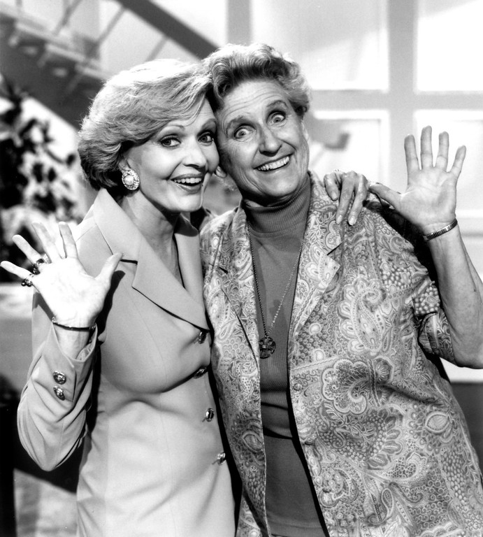 . Florence Henderson, left, and Ann B. Davis   1993  (Los Angeles Daily News file photo)