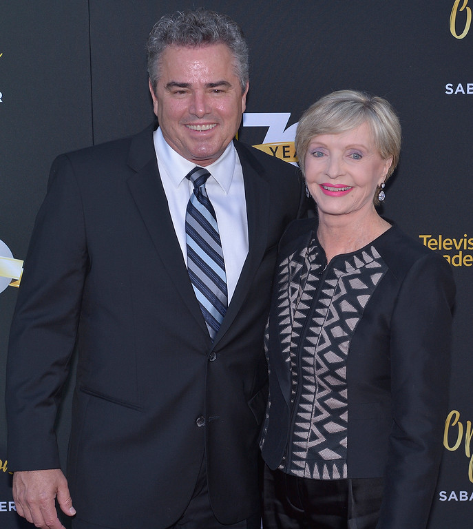 ". File - Christopher Knight and Florence Henderson. The Television Academy celebrated its 70th Anniversary with a Celebrity-studded gala and the opening of the new state-of-the-art Saban Media Center on the Reimagined Television Academy Campus. North Hollywood, CA. June 2, 2016. Henderson, the wholesome actress who went from Broadway star to television icon when she became Carol Brady, the ever-cheerful mom residing over ""The Brady Bunch,\"" has died at age 82. She died surrounded by family and friends, her manager, Kayla Pressman, said in a statement late Thursday, Nov. 24, 2016. (Photo by John McCoy/Southern California News Group)"