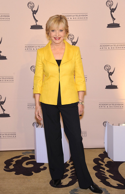 ". BEVERLY HILLS, CA - MAY 5: Actress Florence Henderson arrives at the Academy Of Television Arts & Sciences Presents ""The 4th Annual Television Academy Honors\"" at the Beverly Hills Hotel, May 5, 2011 in Beverly Hills, California. (Photo by /Invision for the Academy of Television Arts & Sciences/AP Images)"