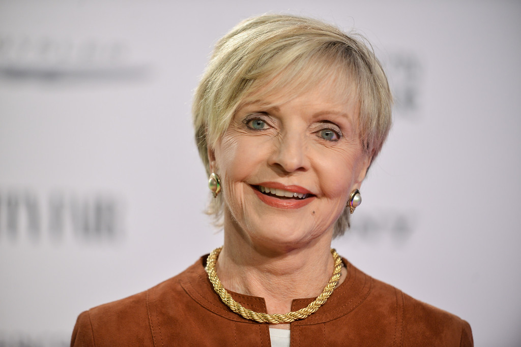 ". Florence Henderson arrives at the Vanity Fair and Chrysler Toasts the ""American Hustle\"" Cast on Thursday, Feb, 27, 2014 in West Hollywood, Calif. (Photo by Richard Shotwell/Invision/AP)"
