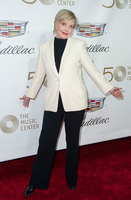 . LOS ANGELES, CA - APRIL 01:  Actress Florance Henderson arrives at The Music Center\'s 50th Anniversary Launch Party at Dorothy Chandler Pavilion on April 1, 2014 in Los Angeles, California.  (Photo by Valerie Macon/Getty Images)