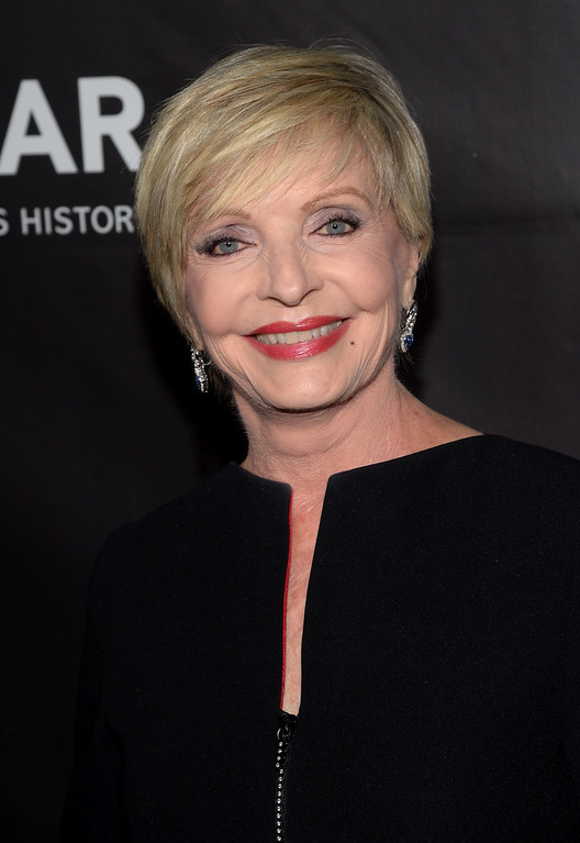. HOLLYWOOD, CA - OCTOBER 29:  Actress Florence Henderson attends the 2014 amfAR LA Inspiration Gala at Milk Studios on October 29, 2014 in Hollywood, California.  (Photo by Jason Kempin/Getty Images)