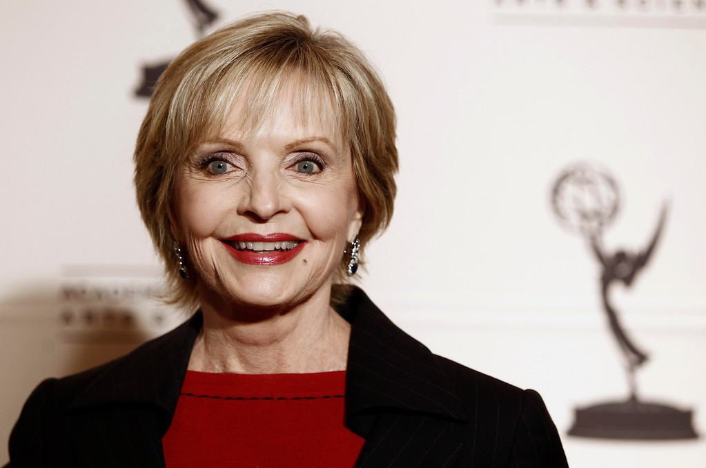 . Florence Henderson arrives at the Academy of Television Arts and Sciences 20th Annual Hall of Fame Induction Gala in Beverly Hills, Calif. on Thursday, Jan. 20, 2011. (AP Photo/Matt Sayles)