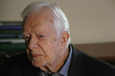 Former President Jimmy Carter says he has cancer