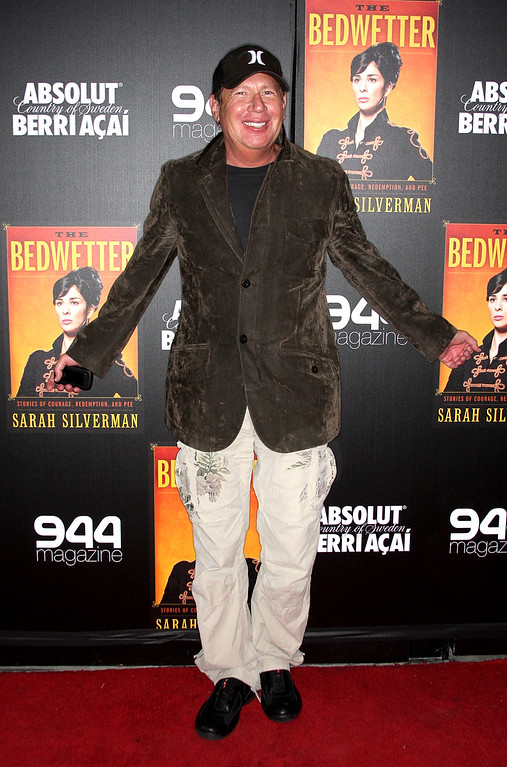 ". Comedian Garry Shandling attends the book launch party for Sarah Silverman\'s new book ""The Bedwetter\"" at the Trousdale Lounge on April 29, 2010 in West Hollywood, California.  (Photo by Frederick M. Brown/Getty Images)"