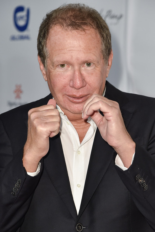 . Garry Shandling arrives at the 15th Annual Harold and Carole Pump Foundation Gala held at the Hyatt Regency Century Plaza, on Friday, August 7, 2015, in Los Angeles. (Photo by Rob Latour/Invision/AP)