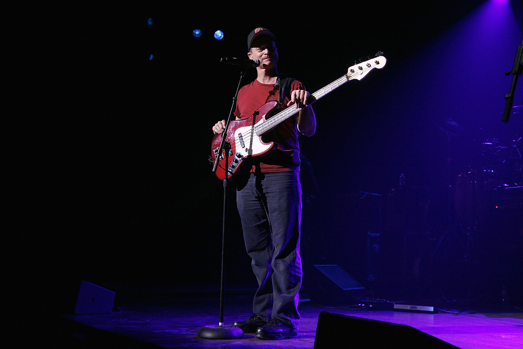 . NEW YORK, NY - APRIL 27:  Gary Sinise performs at the benefit concert for Army SPC Bryan Dilberain at the Brooklyn Center for the Performing Arts on April 27, 2012 in the Brooklyn borough of New York City.  (Photo by Andy Kropa/Getty Images)