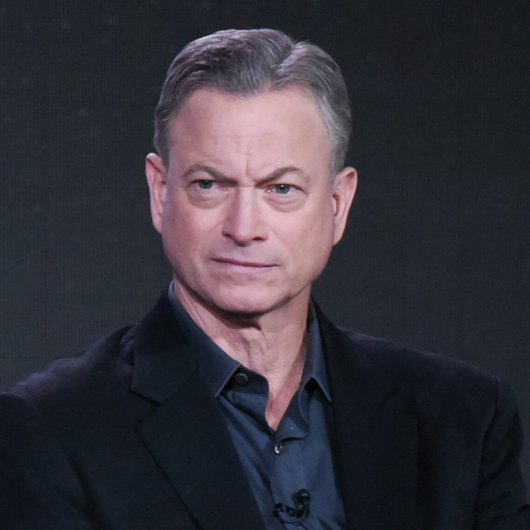 """. Actor Gary Sinise participates in the \""""Criminal Minds: Beyond Borders\"""" panel at the CBS 2016 Winter TCA on Tuesday, Jan. 12, 2016, in Pasadena, Calif. (Photo by Richard Shotwell/Invision/AP)"""
