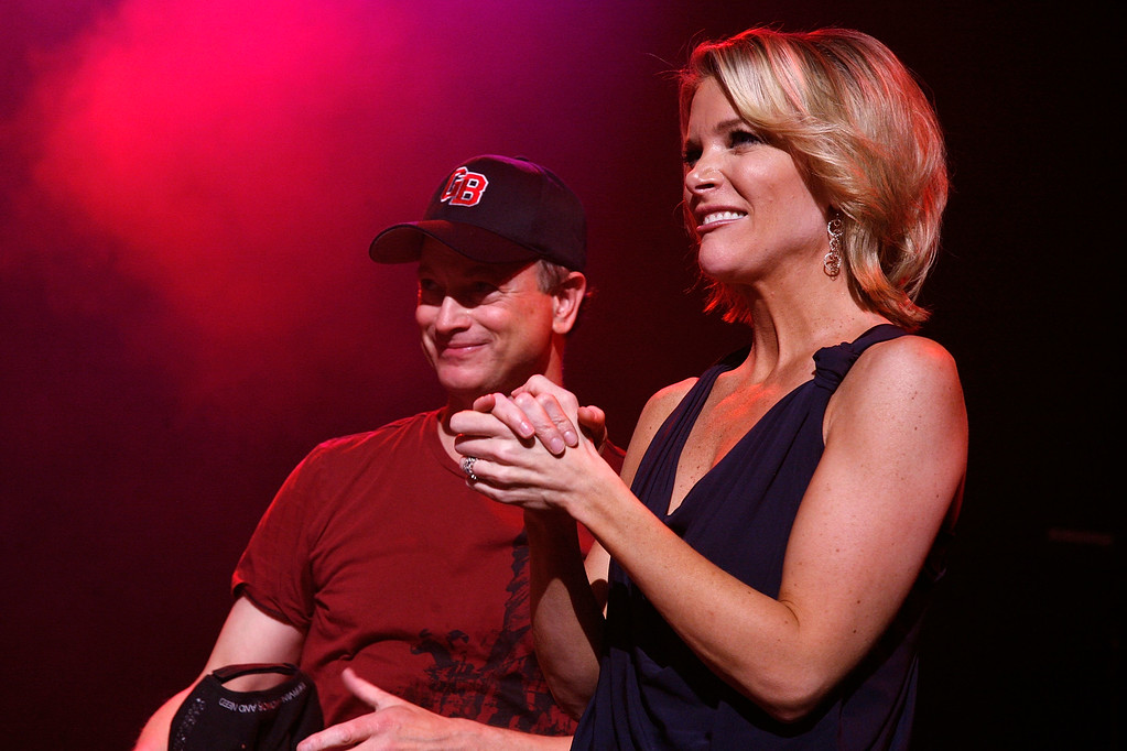 . NEW YORK, NY - APRIL 27:  Gary Sinise and Megyn Kelly attend the benefit concert for Army SPC Bryan Dilberain>> at the Brooklyn Center for the Performing Arts on April 27, 2012 in the Brooklyn borough of New York City.  (Photo by Andy Kropa/Getty Images)