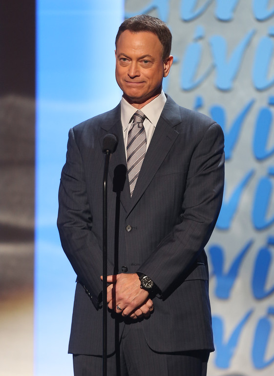 . PASADENA, CA - DECEMBER 07:  Actor Gary Sinise onstage at the American Giving Awards presented by Chase held at the Pasadena Civic Auditorium on December 7, 2012 in Pasadena, California.  (Photo by Frederick M. Brown/Getty Images)