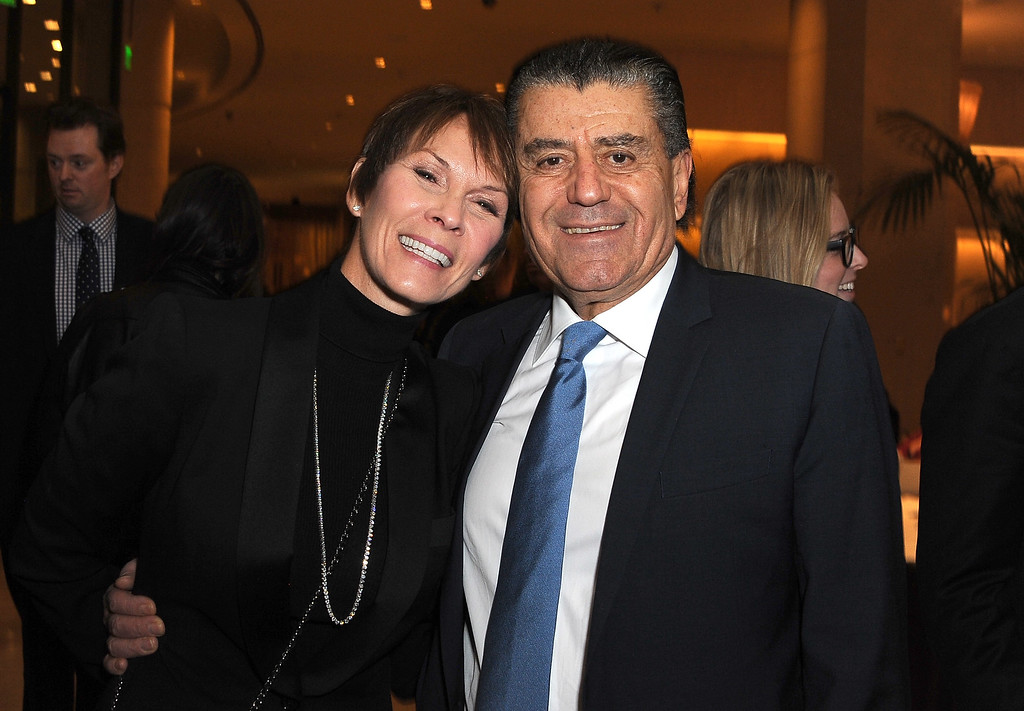 . BEVERLY HILLS, CA - NOVEMBER 24:  Cheryl Saban and Haim Saban attend Saban Community Clinic\'s 38th Annual Dinner at The Beverly Hilton Hotel on November 24, 2014 in Beverly Hills, California.  (Photo by Angela Weiss/Getty Images)