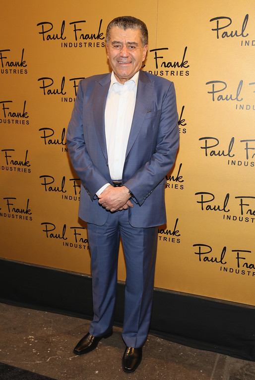 . NEW YORK, NY - SEPTEMBER 10:  Haim Saban, Chairman & CEO, Saban Brands attends Paul Frank Industries Kid\'s Show Front Row during Spring 2016 New York Fashion Week at Hudson Mercantile on September 10, 2015 in New York City.  (Photo by Robin Marchant/Getty Images)