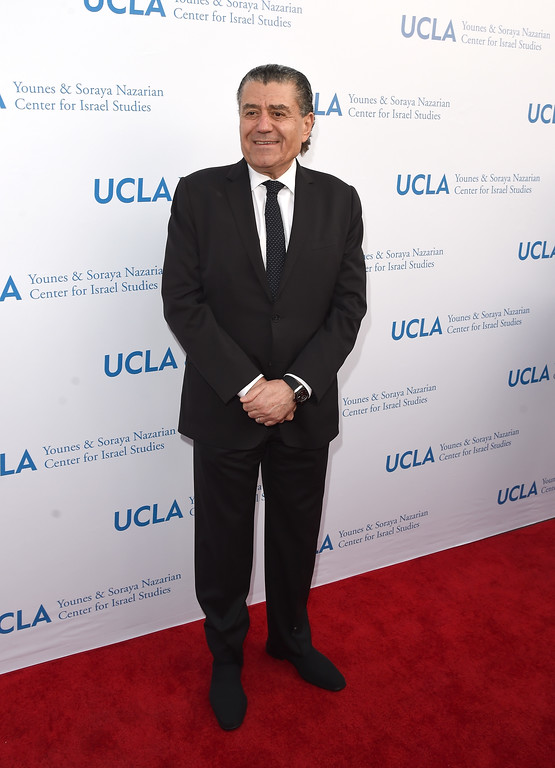 . BEVERLY HILLS, CA - MAY 05:  Haim Saban arrives at the UCLA Younes & Soraya Nazarian Center For Israel Studies 5th Annual Gala at Wallis Annenberg Center for the Performing Arts on May 5, 2015 in Beverly Hills, California.  (Photo by Jason Merritt/Getty Images)