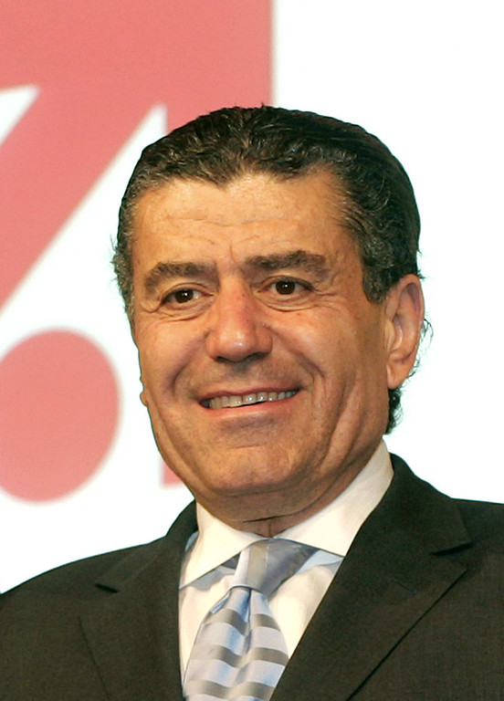 . File -  U. S. billionaire Haim Saban, who holds the majority of German media group ProSiebenSat.1,  pictured Aug. 2, 2006 in Munich, Germany.  (AP Photo/Diether Endlicher)