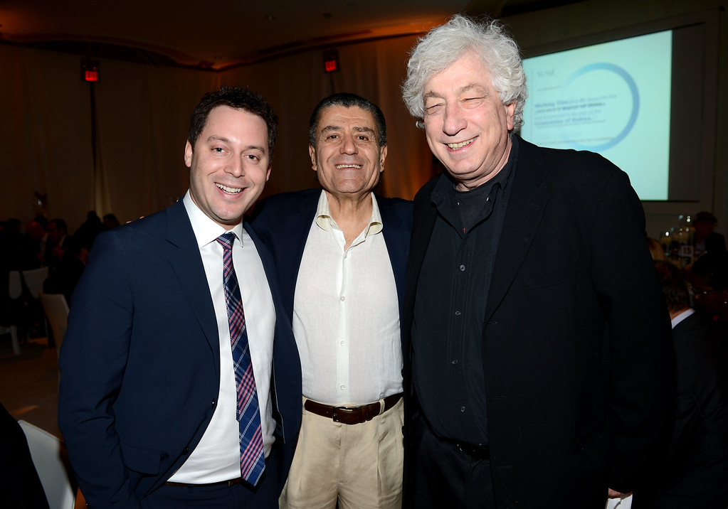 . BEVERLY HILLS, CA - DECEMBER 07:  (C-R) Presenting Sponsor Haim Saban and Producer Avi Lerner attend the 7th Annual March of Dimes Celebration of Babies, a Hollywood Luncheon, at the Beverly Hills Hotel on December 7, 2012 in Beverly Hills, California.  (Photo by Michael Buckner/Getty Images For March Of Dimes)