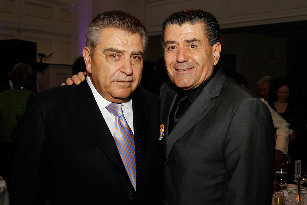 ". NEW YORK - JUNE 03: TV personality Don Francisco and philanthropist  Haim Saban attends the 2010 ""I Have a Dream\"" Foundation Spring Gala at 583 Park Avenue on June 3, 2010 in New York City.  (Photo by Mark Von Holden/Getty Images for I Have a Dream Foundation)"