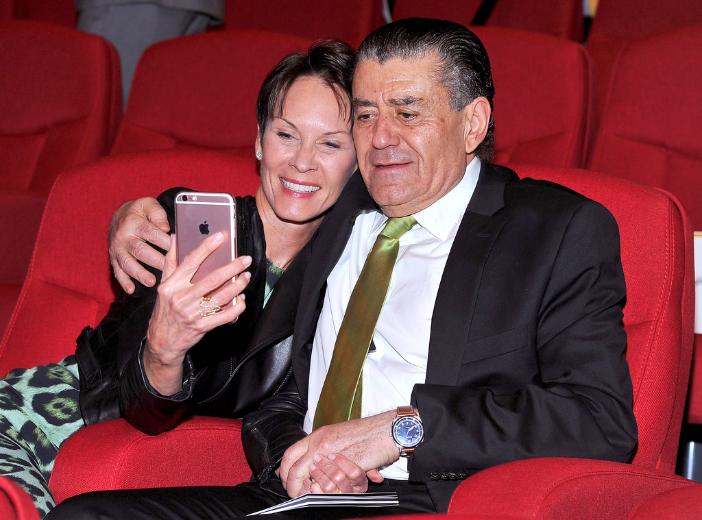 . Cheryl Saban, left, and Haim Saban at the Television Academy�s 70th Anniversary Gala and Opening Celebration for its new Saban Media Center on June 2, 2016, in the NoHo Arts District in Los Angeles. (Photo by Vince Bucci/Invision for the Television Academy/AP Images)