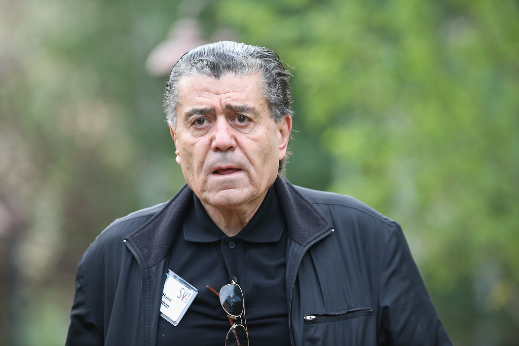 . SUN VALLEY, ID - JULY 08:  Businessman Haim Saban attends the Allen & Company Sun Valley Conference on July 8, 2015 in Sun Valley, Idaho. Many of the worlds wealthiest and most powerful business people from media, finance, and technology attend the annual week-long conference which is in its 33nd year.  (Photo by Scott Olson/Getty Images)