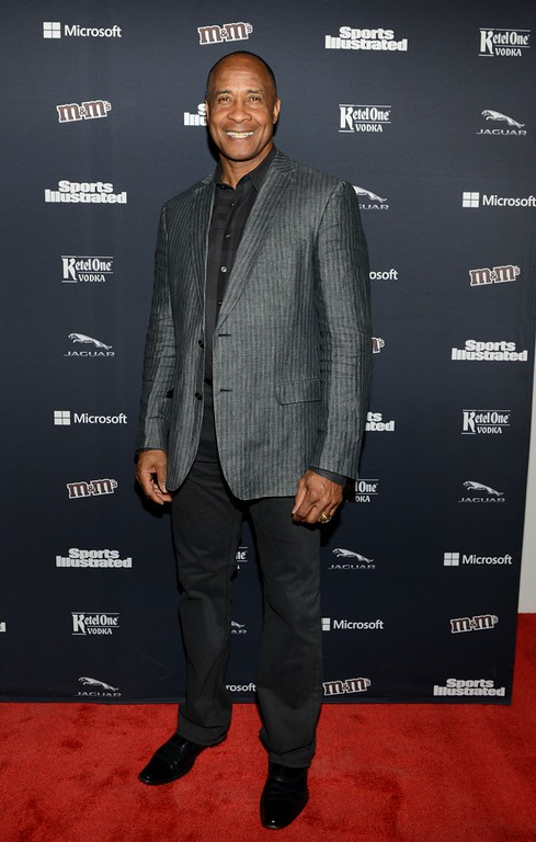 . Lynn Swann attends the Sports Illustrated MVP Night With Lynn Swann And Jaguar At The Diageo Liquid Cellar on January 30, 2014 in New York City.  Swann was named USC�s athletic director on Wednesday, April 13, 2016.  (Photo by Michael N. Todaro/Getty Images for Sports Illustrated)