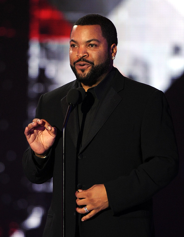 . Ice Cube speaks onstage during the 16th annual Critics\' Choice Movie Awards at the Hollywood Palladium on January 14, 2011 in Los Angeles, California.  (Photo by Kevin Winter/Getty Images)