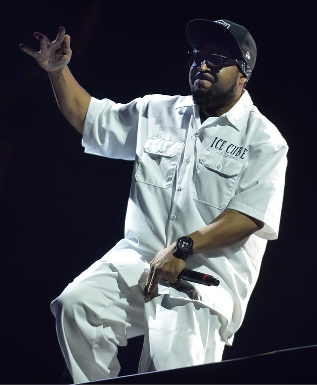. Ice Cube performs at the Coachella Music Festival on Saturday, April 16, 2016 in Indio, Ca. (Micah Escamilla/Southern California News Group)