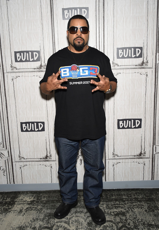 ". Hip-hop music artist and actor Ice Cube participates in the BUILD Speaker Series to discuss the series VH1 ""Hip Hop Squares\"" at AOL Studios on Tuesday, March 14, 2017, in New York. (Photo by Evan Agostini/Invision/AP)"