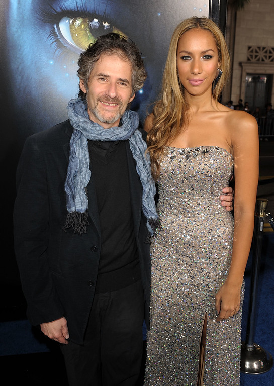 """. Composer James Horner (L) and singer Leona Lewis arrive at the premiere of 20th Century Fox\'s \""""Avatar\"""" at the Grauman\'s Chinese Theatre on December 16, 2009 in Hollywood, California.  (Photo by Kevin Winter/Getty Images)"""