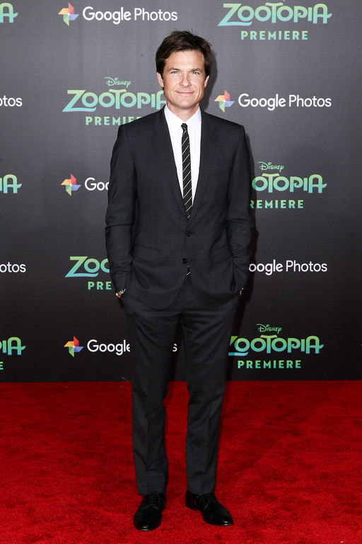 ". Jason Bateman attends the LA Premiere of ""Zootopia\"" held at El Capitan Theatre on Wednesday, Feb. 17, 2016, in Los Angeles. (Photo by John Salangsang/Invision/AP)"