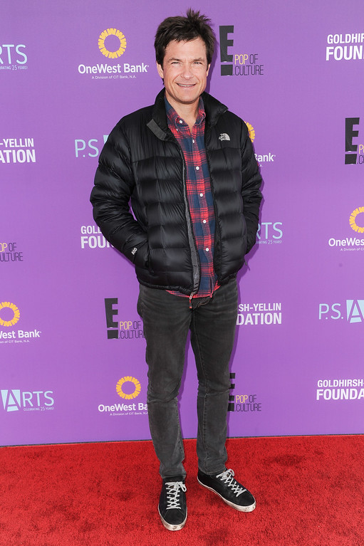 . Actor Jason Bateman attends P.S. ARTS Express Yourself 2015 held at Barker Hangar on Sunday, Nov. 15, 2015, in Santa Monica, Calif. (Photo by Richard Shotwell/Invision/AP)