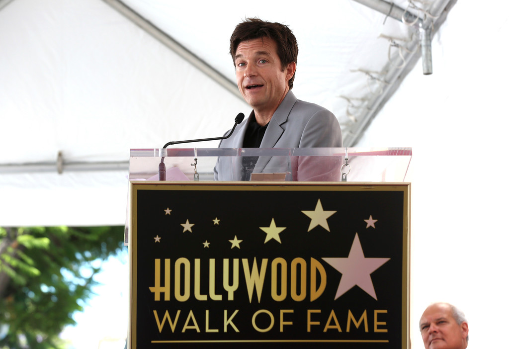 . Jason Bateman speaks at a ceremony honoring him with a star at the Hollywood Walk of Fame on Wednesday, July 26, 2017, in Los Angeles. (Photo by Willy Sanjuan/Invision/AP)
