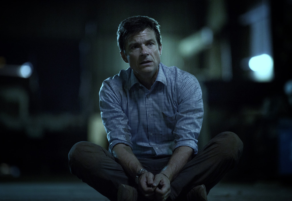 ". This image released by Netflix shows Jason Bateman in a scene from the series, ""Ozark.\"" (Jackson Davis/Netflix via AP)"