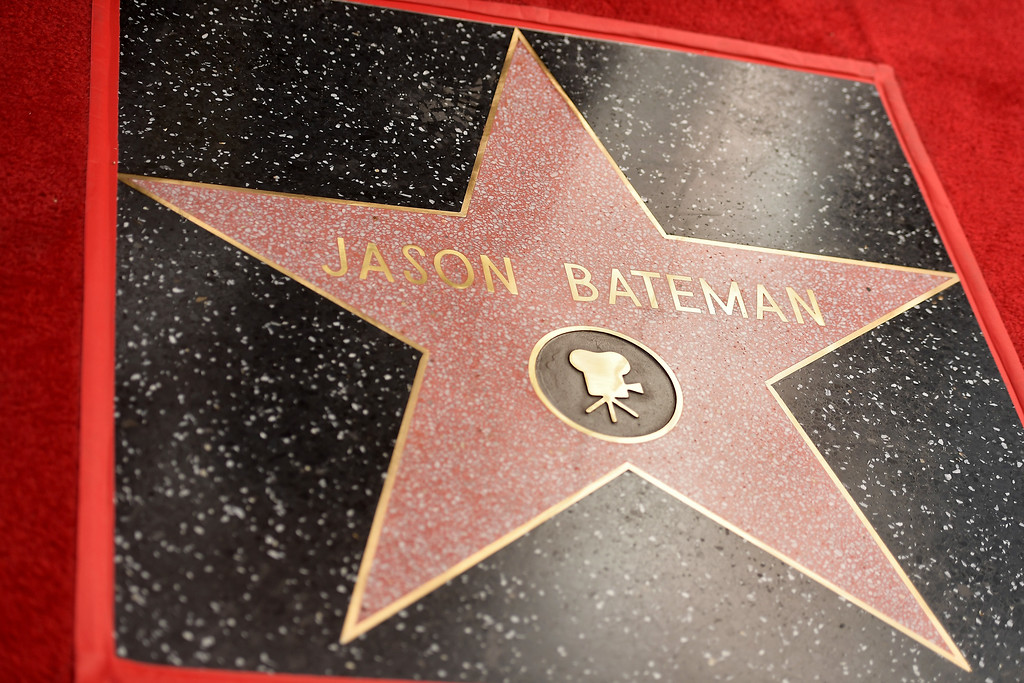 . HOLLYWOOD, CA - JULY 26:  Jason Bateman\'s star is seen during The Hollywood Walk of Fame Star Ceremony honoring Jason Bateman on July 26, 2017 in Hollywood, California.  (Photo by Matt Winkelmeyer/Getty Images)