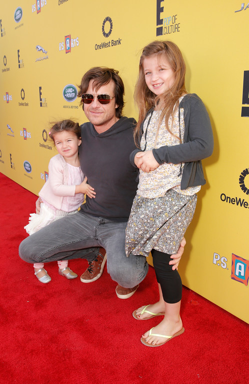 . Maple Bateman, actor Jason Bateman and Francesca Bateman attend P.S. Arts Express Yourself 2014 at Barker Hanger on Sunday, November 16, 2014 in Santa Monica, Calif. (Photo by Todd Williamson/Invision/AP)
