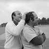 Joe Garagiola with Yogi Berra