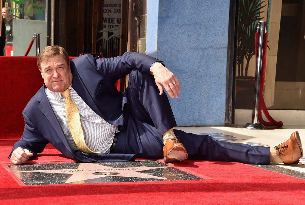. HOLLYWOOD, CA - MARCH 10:  Actor John Goodman attends a ceremony honoring him with the 2,604th Star on The Hollywood Walk of Fame on March 10, 2017 in Hollywood, California.  (Photo by Alberto E. Rodriguez/Getty Images)