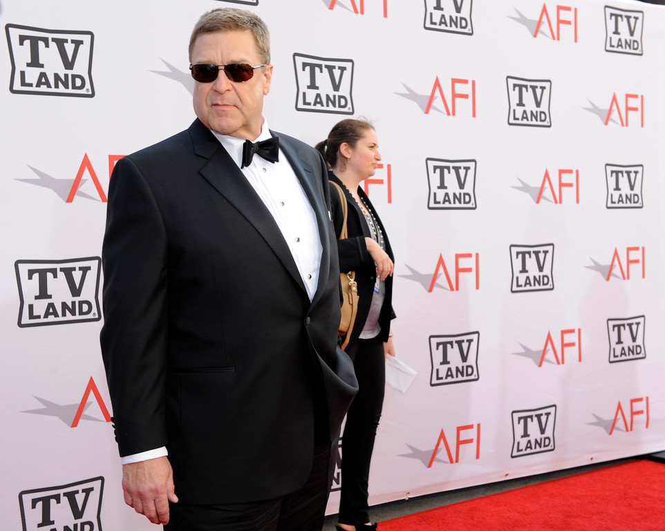 . Actor John Goodman arrives at the AFI Lifetime Achievement Awards honoring Mike Nichols, presented by TV Land at Sony Pictures Studios on Thursday, June 10, 2010 in Culver City, Calif.  (AP Photo/Chris Pizzello)