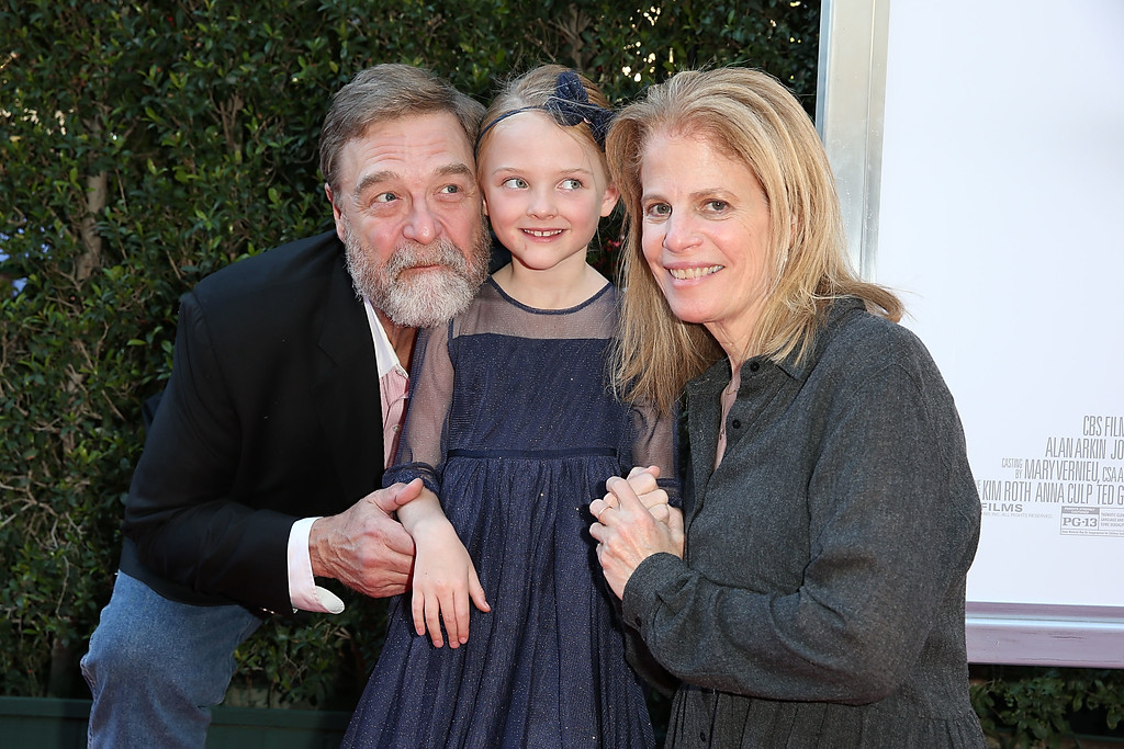 """. LOS ANGELES, CA - NOVEMBER 12:  John Goodman, Blake Baumgartner and Director Jessie Nelson attend the \""""Love The Coopers\"""" Holiday Luncheon Benefiting The LA Regional Food Bank at The Grove on November 12, 2015 in Los Angeles, California.  (Photo by Joe Scarnici/Getty Images for CBS Films)"""