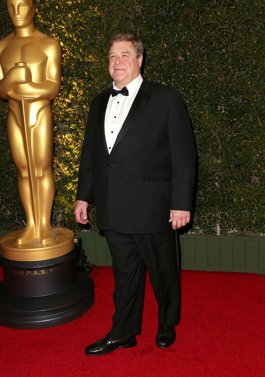 . HOLLYWOOD, CA - NOVEMBER 16:  Actor John Goodman arrives at the Academy of Motion Picture Arts and Sciences\' Governors Awards at The Ray Dolby Ballroom at Hollywood & Highland Center on November 16, 2013 in Hollywood, California.  (Photo by Frederick M. Brown/Getty Images)