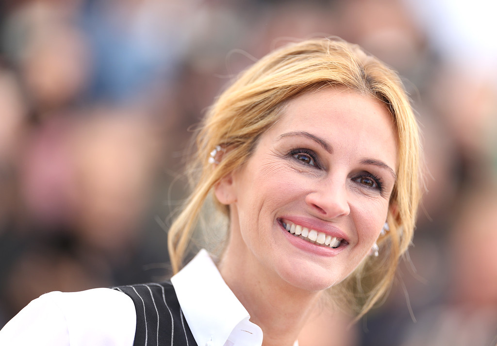 ". File - Julia Roberts attends the ""Money Monster\"" Photocall during the 69th annual Cannes Film Festival on May 12, 2016 in Cannes, France. Roberts is more than just a \""Pretty Woman.\"" People magazine has named her the \""World\'s Most Beautiful Woman\"" announced Wednesday, April 19, 2017.  (Photo by Pascal Le Segretain/Getty Images)"