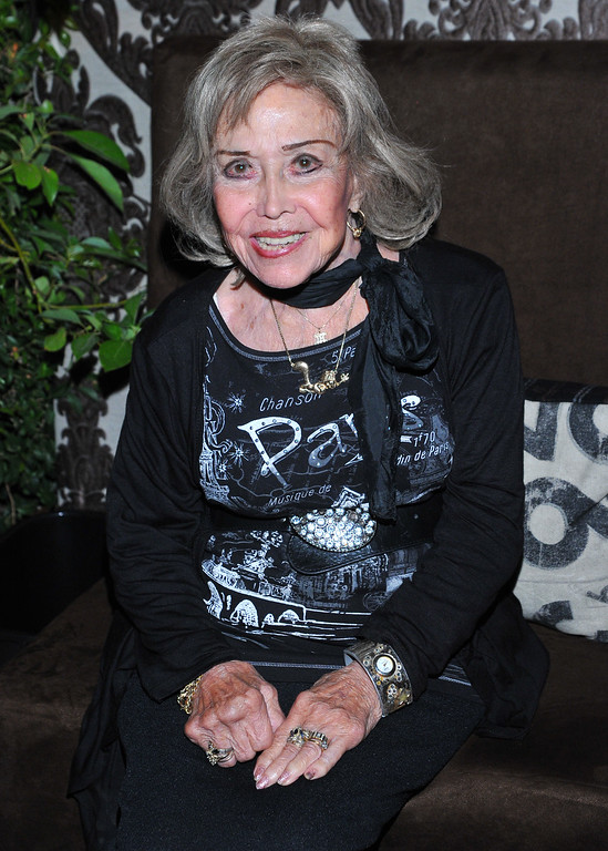 . File - June Foray attends the 65th Primetime Emmy Awards Performers Nominee Reception, on Friday, September 20, 2013 at Spectra by Wolfgang Puck at the Pacific Design Center, in West Hollywood, Calif. Foray died on Wednesday, July 26, 2017. She was 99. (Photo by Vince Bucci/Invision for Academy of Television Arts & Sciences/AP Images)